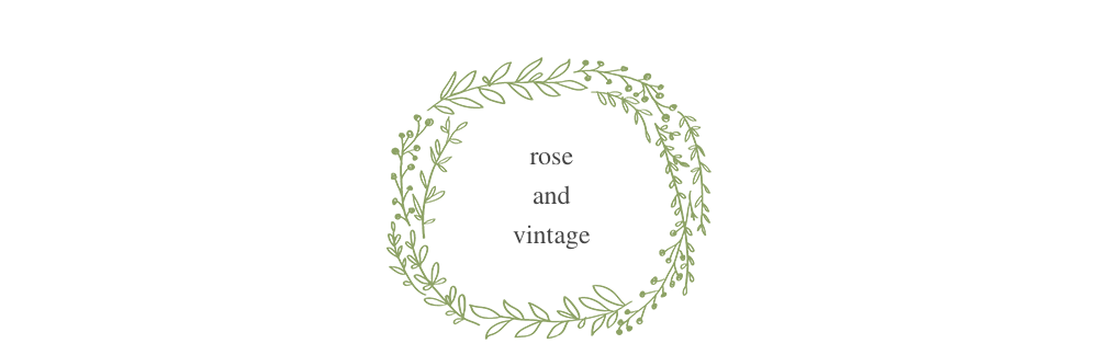rose and vintage