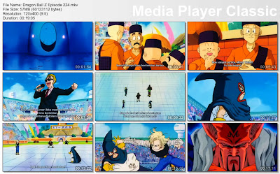 Download Film / Anime Dragon Ball Z Majin Buu Saga Episode 224 Bahasa