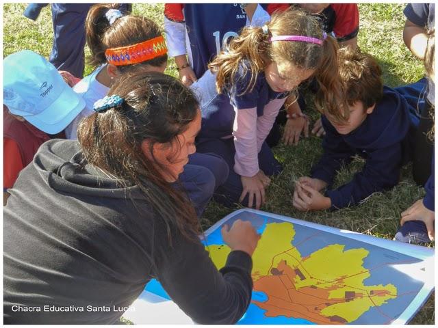 Ubicando la Chacra en el mapa de Montevideo - Chacra Educativa Santa Lucía
