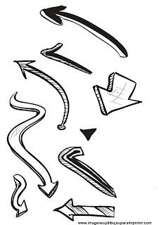 flechas para imprimir