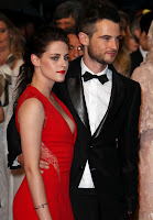 Kristen Stewart Full Cleavage Show at the Cosmopolis Premiere in Cannes