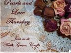 Pearls & Lace Thursday