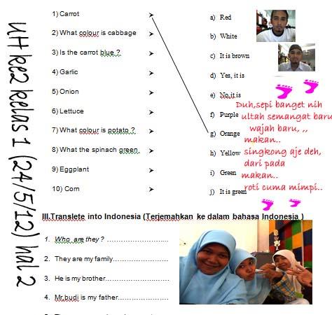 Kisi UHke2 kelas 1 halaman 2