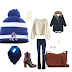 Root for your NFL team in a vintage toboggan and flare jeans