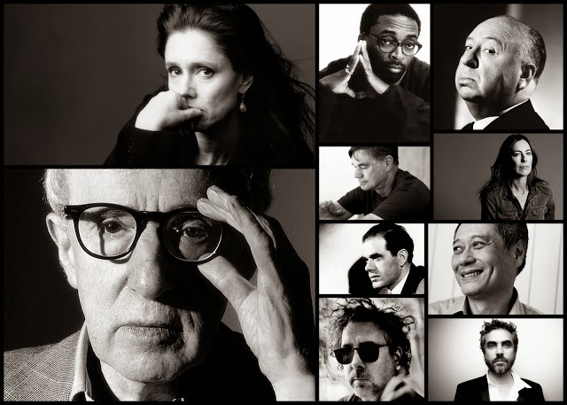 The Auteur Theory, Great Filmmakers Collage