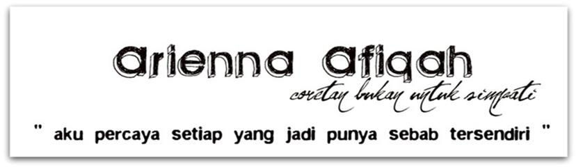 arienna afiqah