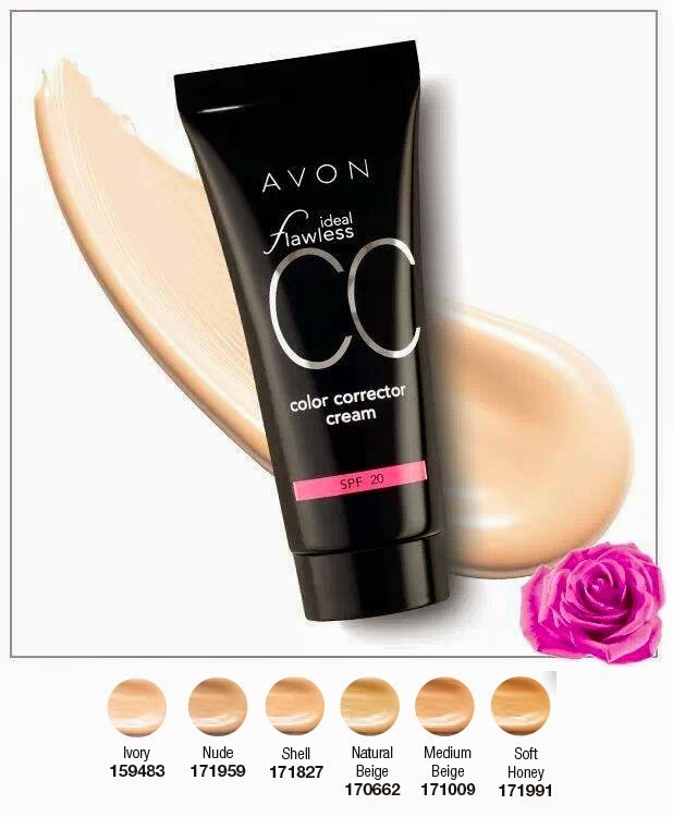 CC CREAM COLOUR CONTROL F50 IDEAL FLAWLESS do AVON - Avon Shop Online