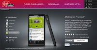 Motorola TRIUMPH for Virgin Mobile USA now available