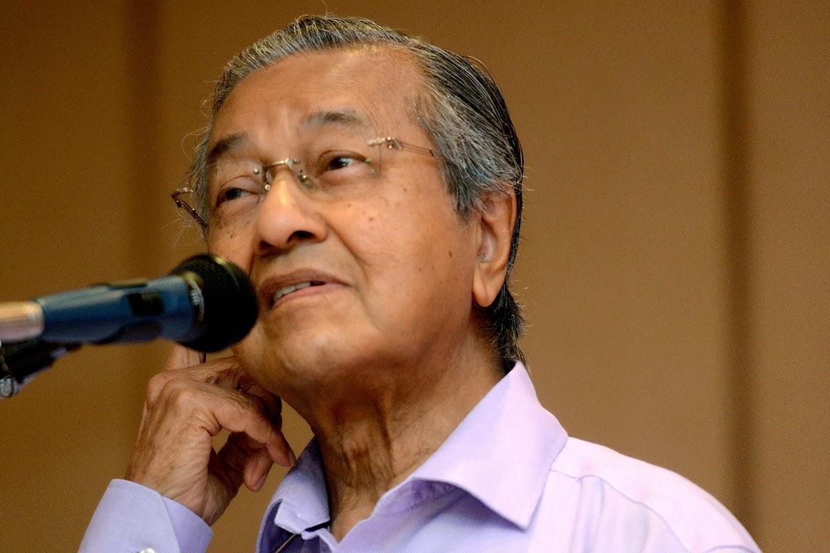 Ahmad Maslan Timbalan Menteri Kewangan yang tak tahu apa apa tentang kewangan kata Mahathir