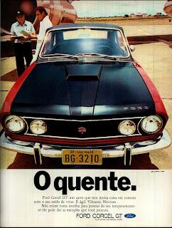 propaganda Ford Corcel GT - 1971