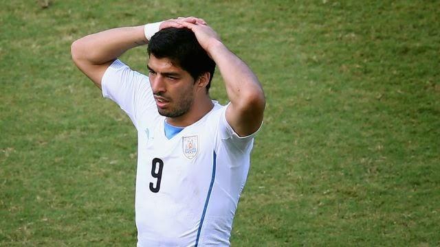 Luis Suárez es suspendido nueve partidos oficiales