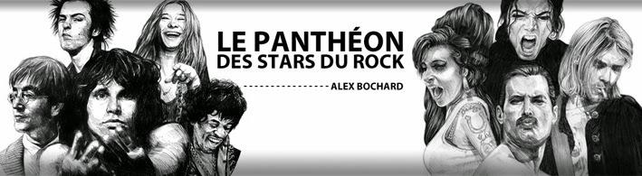 Le panthéon des stars du rock