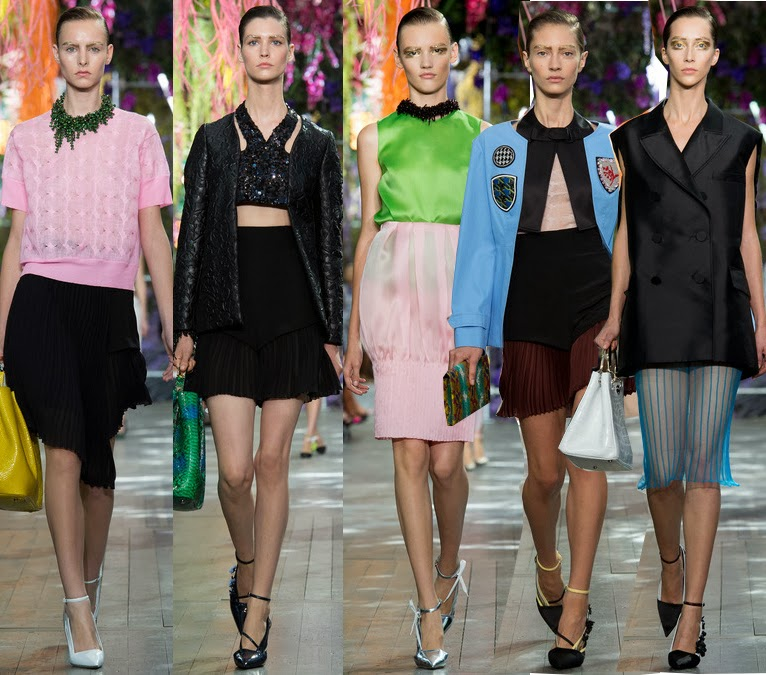 dior women's spring 2014 by raf simons