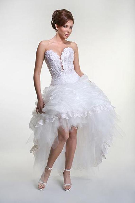 Modern Wedding Invitation Vintage Short Wedding Dresses Designs 2012