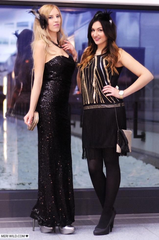 sylwester 2012 black dress