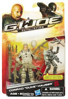 Hasbro GI Joe Retaliation Ultimate Conrad Duke Hauser Figure