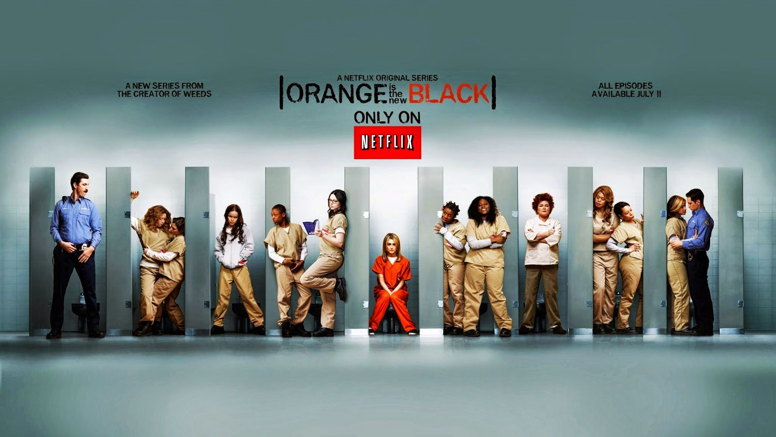 Cartel promocional de Orange is the new Black