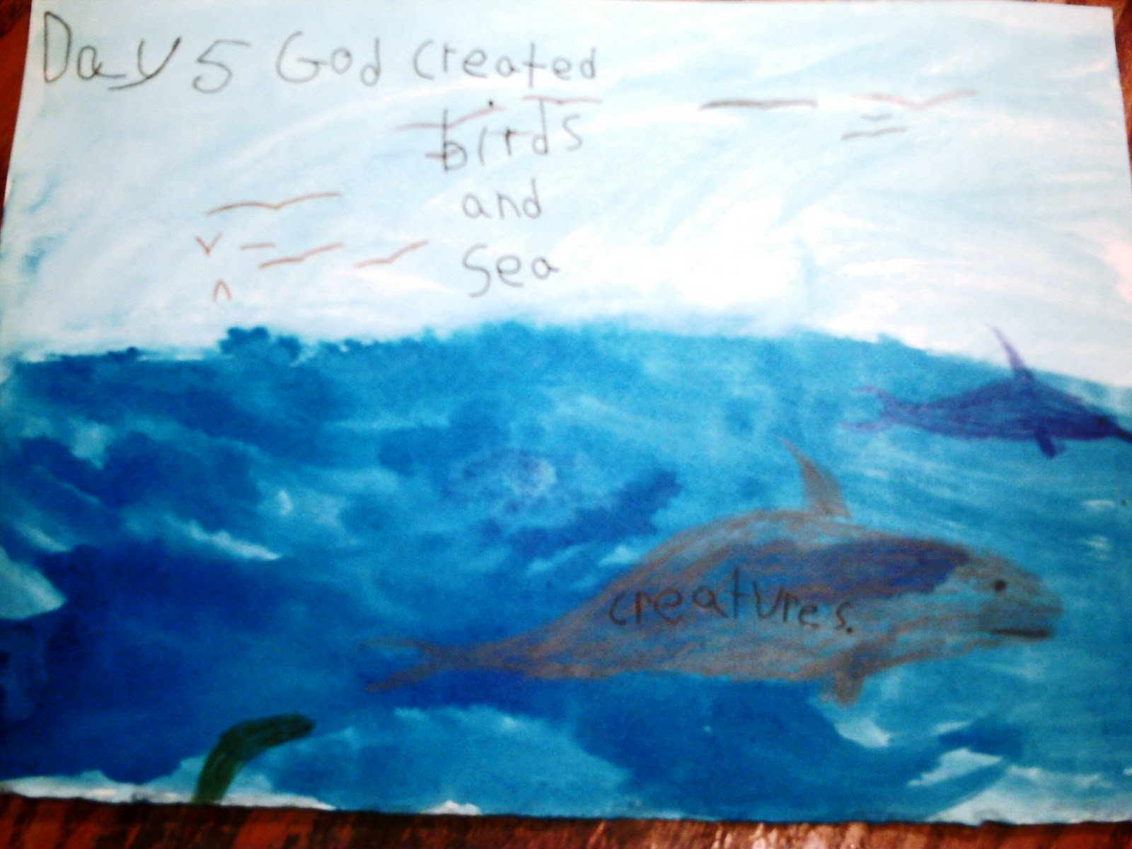 God's Creation Day 3 http://blackscoolhomeschool.blogspot.com/2011/03/language-arts-waldorf-grade-3.html