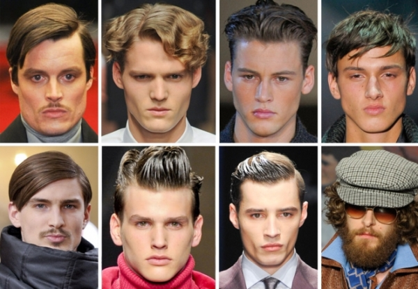 Male models hairstyles Fall/Winter 2012-2013