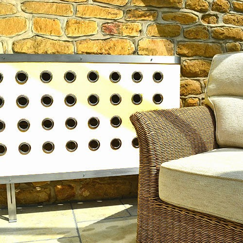 YOYO Radiator Covers in a conservatory