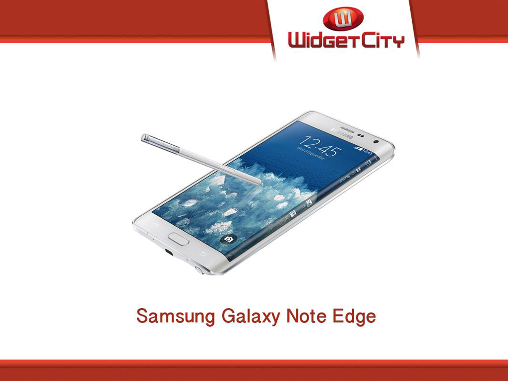 Samsung Galaxy Edge Now Available Via Widget City For Php 44,990!