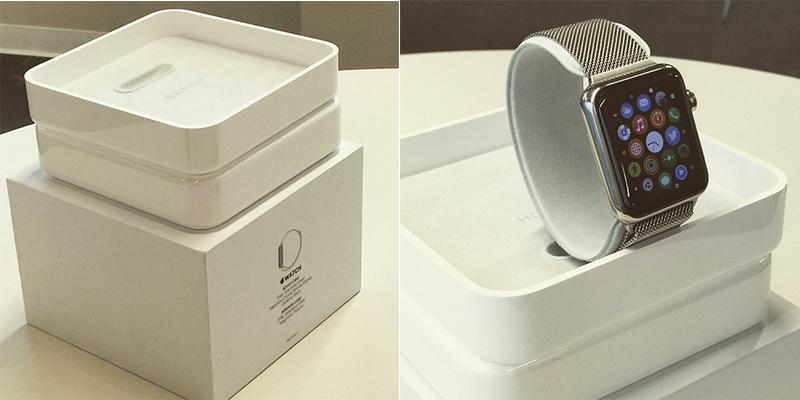 Apple Watch 包裝流出