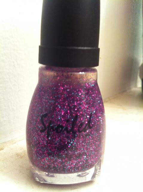 Spoiled Purple Glitter Polish