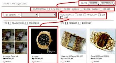 gambar harga jam tangan guess