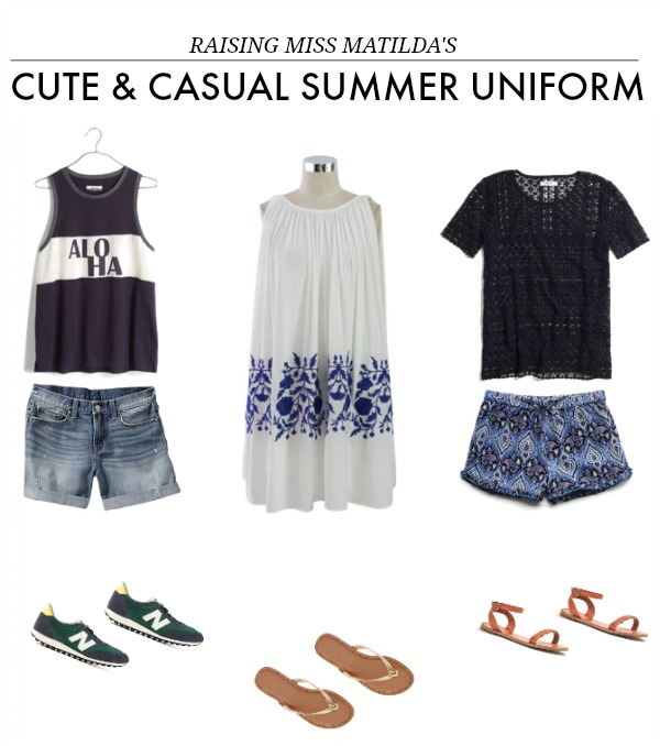 mom friendly cute and casual summer outfits