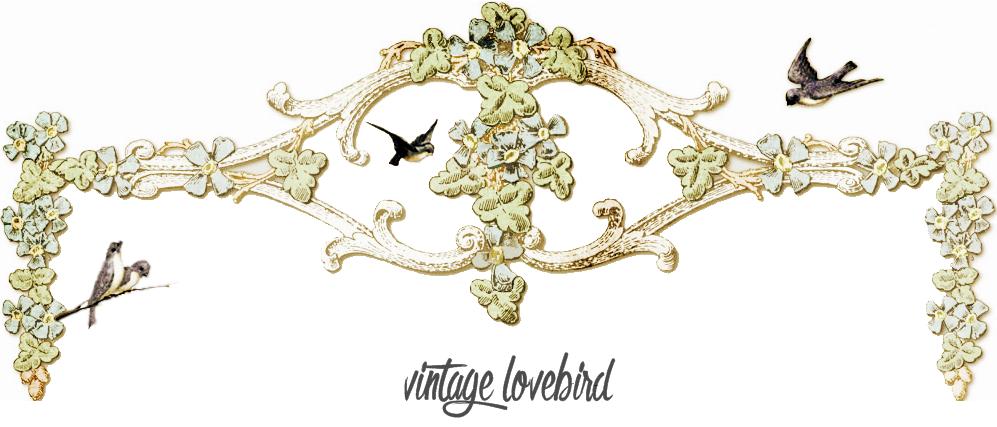 Vintage Lovebird