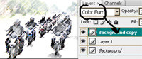cara edit dan memanifulasi foto menjadi efek sketsa lukisan menggunakan odobe photoshop cs