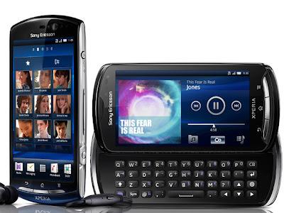 Harga Sony Ericsson Xperia Pro