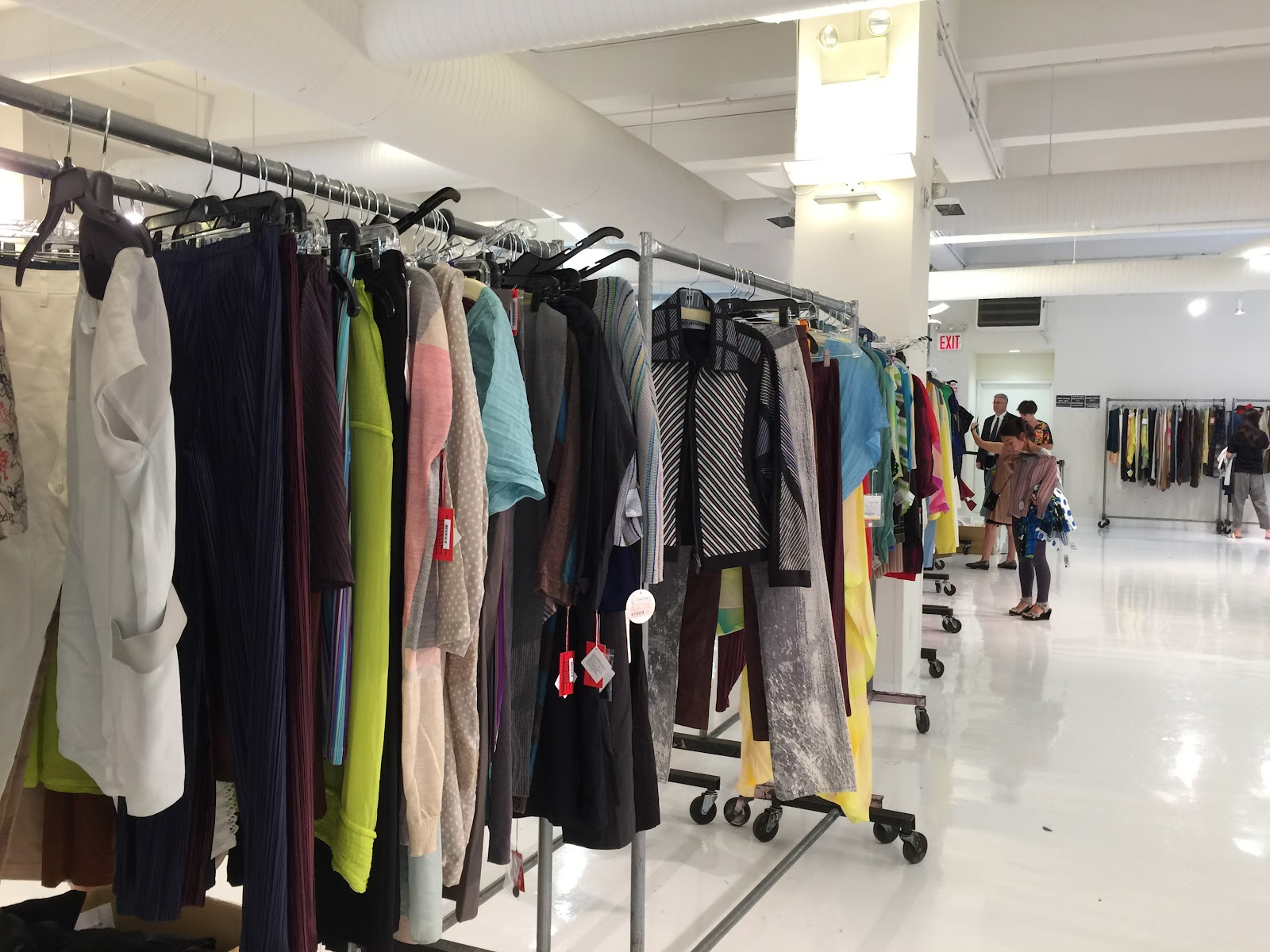 Pleats Please! - The One Day Issey Miyake Sample Sale ...