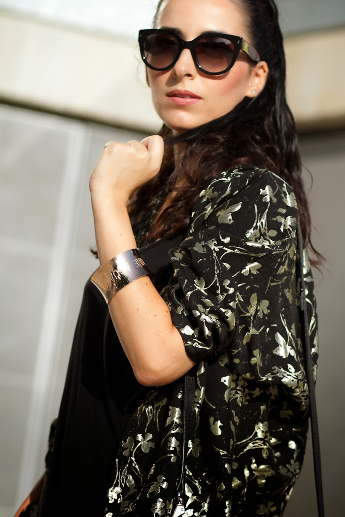 AMOR AIRE AGUA Cuff: FORTUNA Collection by FLOR AMAZONA