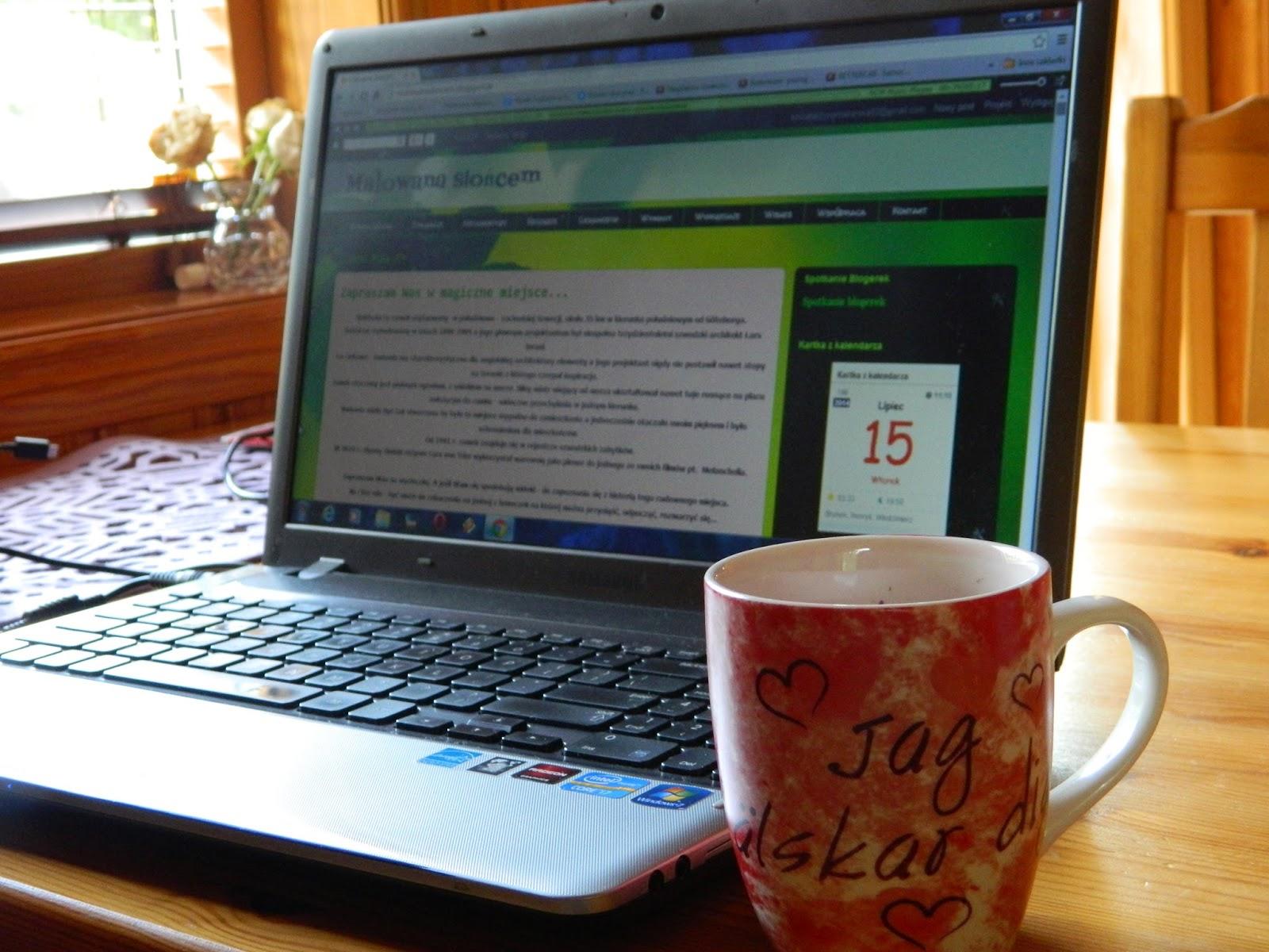 Blogerka szuka miejsca do pracy...
