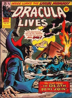 Marvel UK, Dracula Lives #47