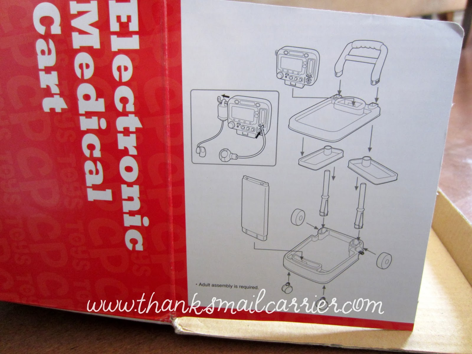 CP Toys Electronic Medical Cart instructions