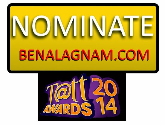 Nominate This Site at TATTAWARDS 2014
