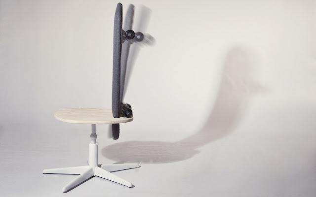 Mobilité von Tim Defleur und Benjamin Helle | Der Skateboard Stuhl