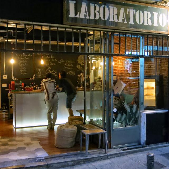 El Laboratorio, fachada