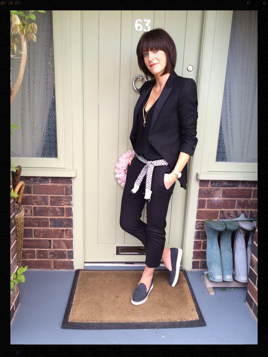 My Midlife Fashion, Zara, Mango, Seven Boot Lane, Dakota, Tuxedo