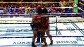วิดีโอคลิปมวยไทย สิงห์ทอง ส.ยิ่งเจริญการช่าง พบกับ เพชรนรินทร์ ซ.โค้วยูฮะอีซูซุ (ศึกมวยไทย 7 สี วันอาทิตย์ที่ 19 ตุลาคม 2557)(คู่แรก)