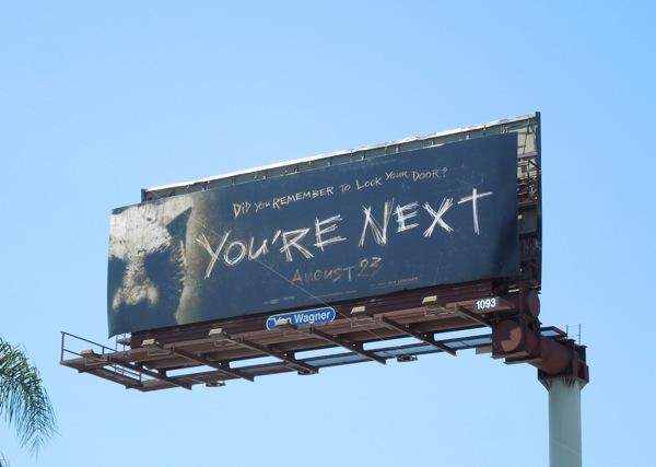 You're Next film billboard