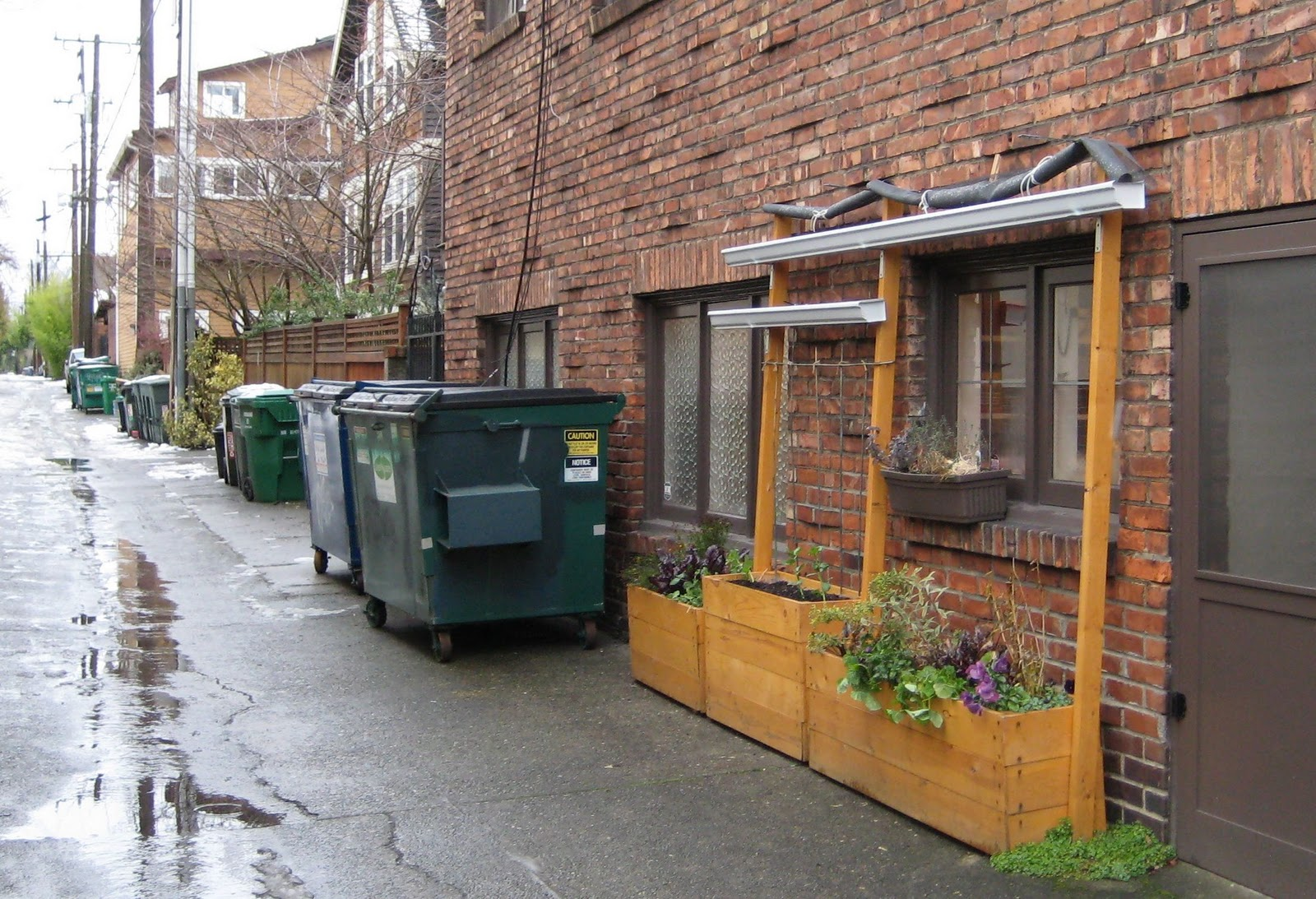 Urban photo diary diy urbanism diy edible urbanism tucked among alley dumpsters this creative one foot wide multi level design invites growing in some of the most urban constraints location solutioingenieria Choice Image