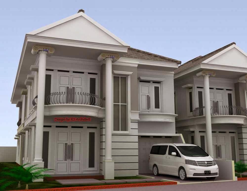rumah modern klasik untuk yang berani tampil beda