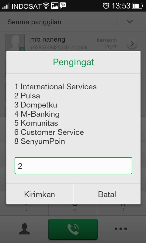 Cek Perdana Indosat im3