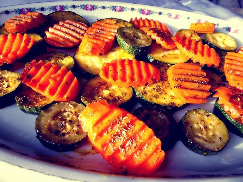 cukinia z marchewka na obiad- Smaki Prowincji