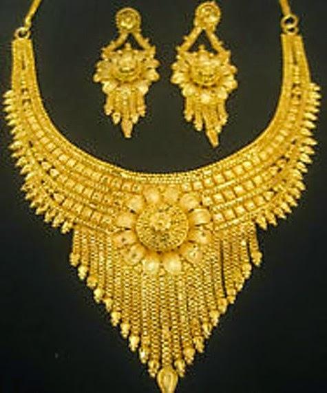 Beautiful Arabic Gold Jewellery New Fashion Designs Collection