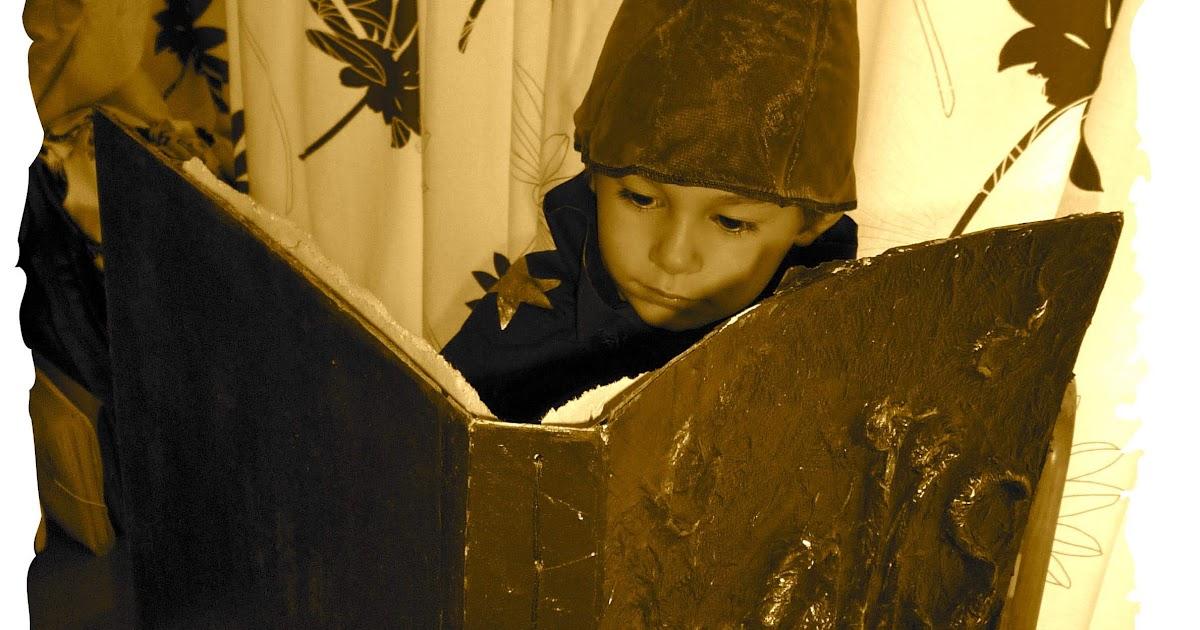 Spooky Spell Book - tutorial...