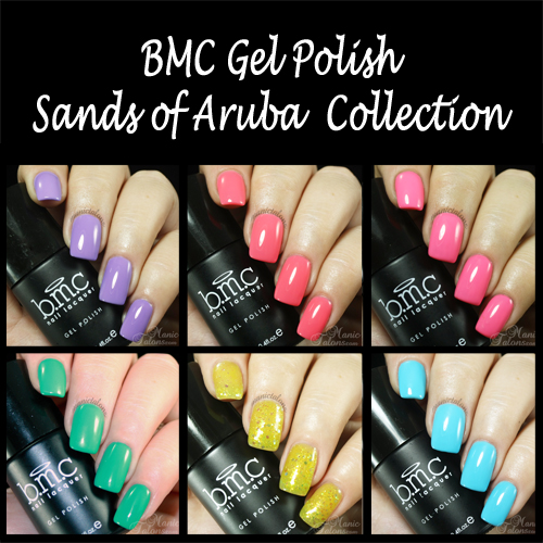 BMC Gel Polish Sands of Aruba Collection